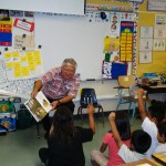 Read Aloud Program at Waipahu Elementry First Graders